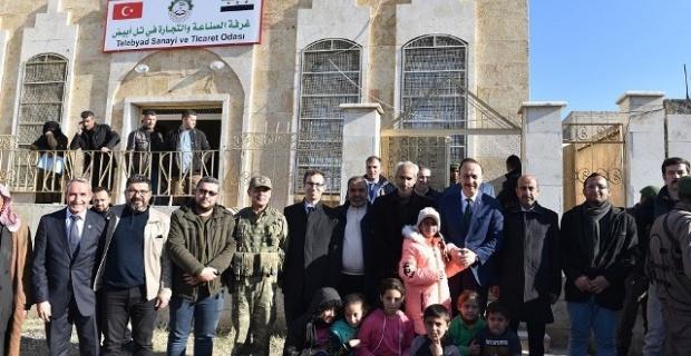 Tel Abyad Ticaret ve Sanayi Odası Faaliyete Başladı