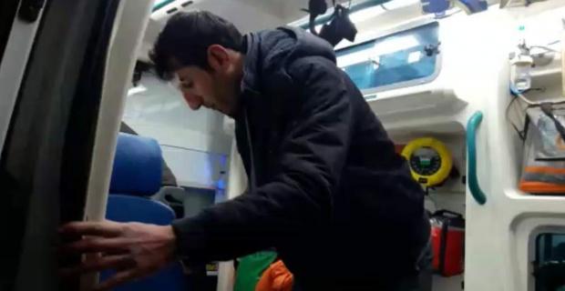 Pervari'de Yaralanan Öğretmen Hastahaneye Ulaştırıldı