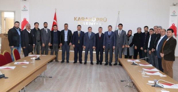 Zenbilci, Karaköprü Belediye Başkanı Metin Baydilli'yi Ziyaret Etti.
