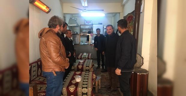 """Adıyaman Belediye Başkanı Kılınç """"sorunları yerinde tespit ediyoruz"""""""