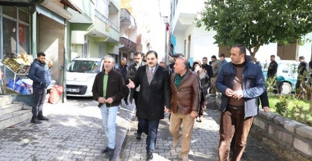 Başkan Canpolat,Karşıyaka mahalle sakinleri ile bir araya geldi.