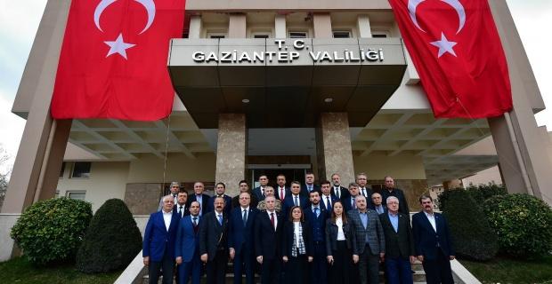 Gaziantep'ten birlik ve beraberlik mesajı