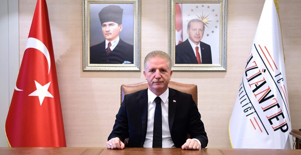 Gaziantep Valisi Gül'ün Gaziantep'in Gazilik Unvanı İle Onurlandırılışının 99.Yıldönümü Mesajı