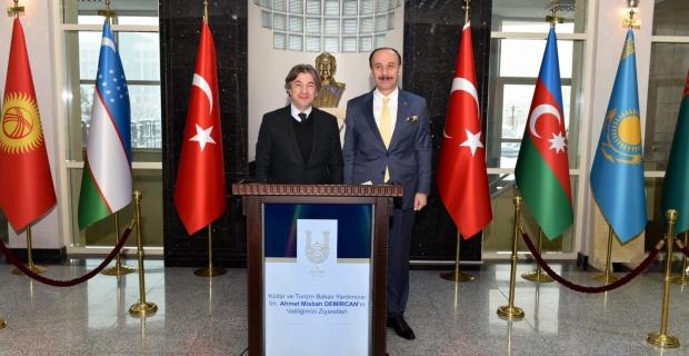 Kültür ve Turizm Bakan Yardımcısı Demircan Şanlıurfa'da