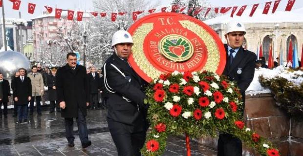 """Malatya Büyükşehir Belediye Başkanı Gürkan """"saygıyla ve özlemle anıyoruz."""""""
