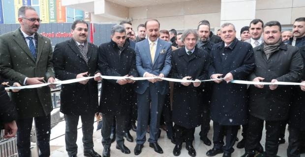 Şanlıurfa'da Köprü Kütüphane Hizmete Açıldı.