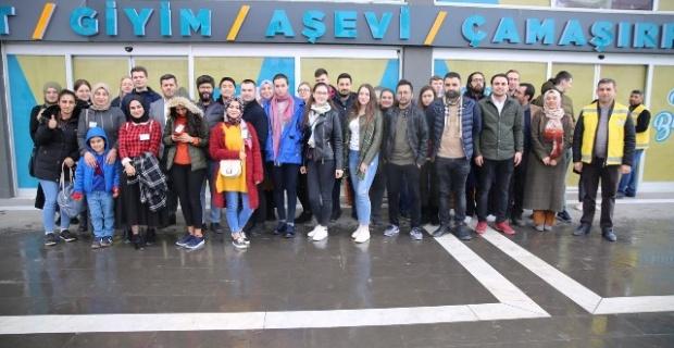 Yabancı Öğrencilerden Haliliye'ye Tam Not!