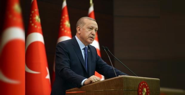 """Cumhurbaşkanı Erdoğan """"7 yeni tedbirin hayata geçirilmesi kararlaştırılmıştır"""""""