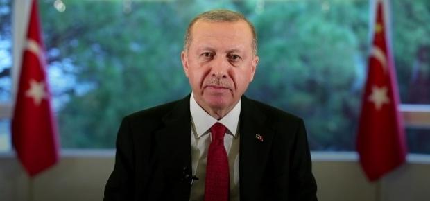 """Cumhurbaşkanı Erdoğan """"Her vatandaşımızın canı bizim için aynı derecede değerlidir. Bunun için 'Evde kal Türkiye' diyoruz"""""""