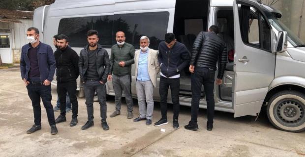 Gaziantep'te seyahat izin belgesi olmayan yolcular karantinya alındı.