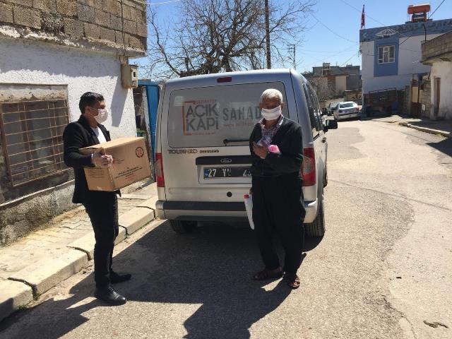 Gaziantep Vefa Sosyal Destek Grubu vatandaşın evine hizmet götürüyor
