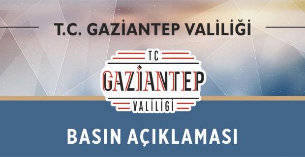 Gaziantep'te coronavirüs mezarlığı yalanıyla ilgili basın açıklaması...