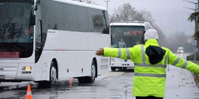 Gaziantep'te Seyahat Kısıtlamasına Uymayan Otobüse ve Yolcularına Ceza Yağdı