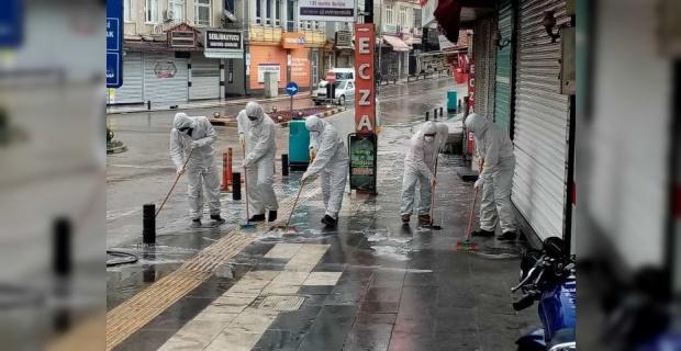 """Kilis Belediyesi """"7/24 çalışmalarımızı sürdürüyoruz"""""""