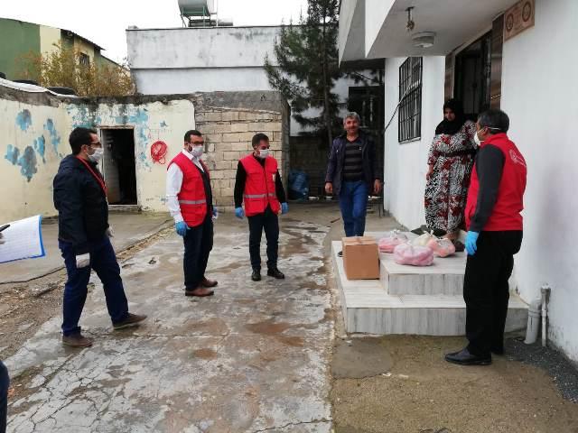 Şanlıurfa Vefa Sosyal Destek Grubu Bir Günde 654 Kişiye Hizmet Ulaştırdı