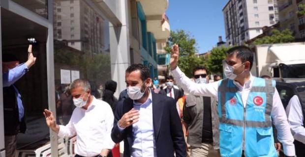 """Bakan Kurum """"örnek bir dönüşüm projesini Elazığ Mustafapaşa'da hayata geçiriyoruz"""""""