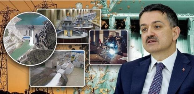 """Bakan Pakdemirli """"Çetin Barajı,milli ekonomiye yıllık 500 milyon lira katkı sağlayacak"""""""