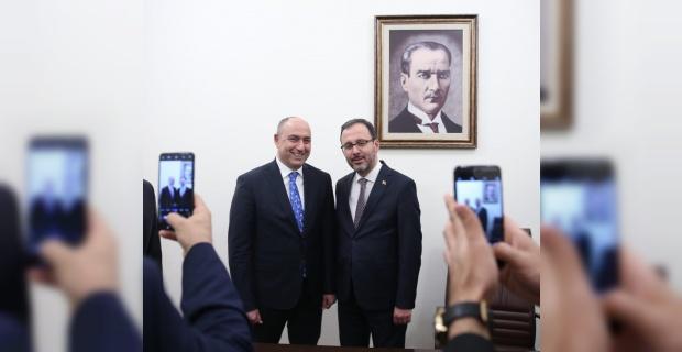 """Başkan Aksoy """"En kısa sürede temelini atacağız"""""""