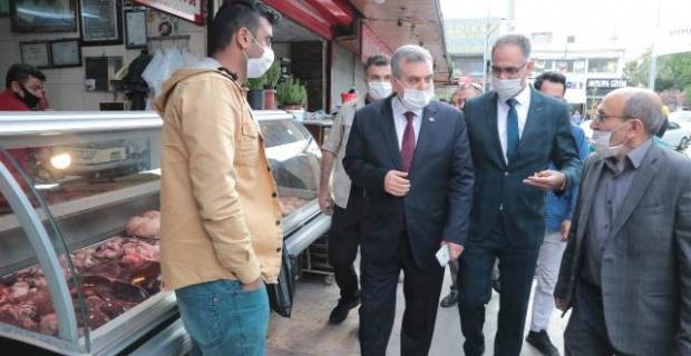 """Başkan Beyagül """"kaldırım yenileme ve çevre düzenleme çalışmalarını da başlatıyoruz"""""""