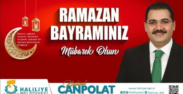 """Başkan Canpolat """"Ramazan ayının sabrını bayrama ulaştırdık"""""""