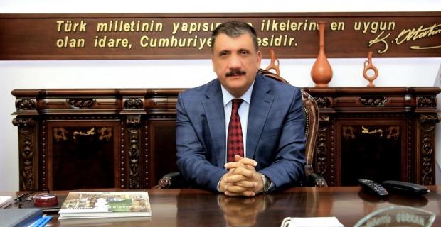 """Başkan Gürkan """"Aziz Milletimizin Başı Sağolsun"""""""