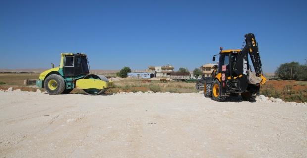 """Başkan Özyavuz """"bataklık ve sazlık bölgenin üst yapı çalışmalarını bitirdik"""""""