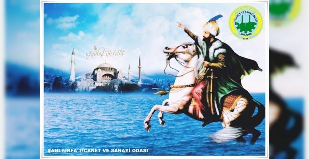"""Başkan Peltek """"Fatih Sultan Mehmet Han ve muzaffer ordumuzu, rahmetle, şükranla yad ediyoruz"""""""