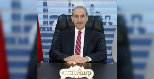 """Başkan Yalçınkaya """"Aziz milletimizin başı sağolsun"""""""