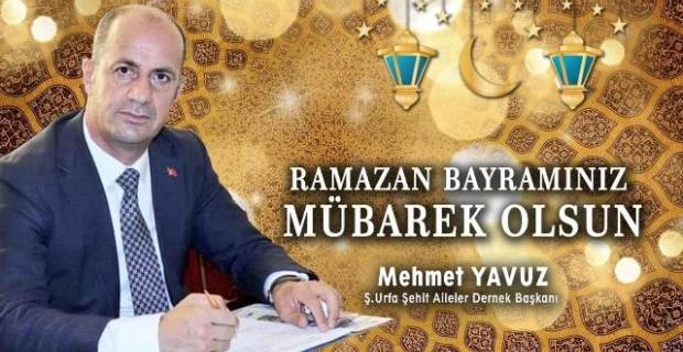 """Başkan Yavuz """"Ramazan Bayramının heyecanını yaşıyoruz"""""""
