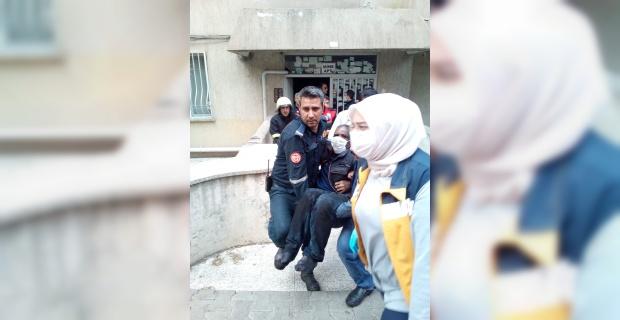Büyükşehir İtfaiye ekipleri faciayı son anda önledi.