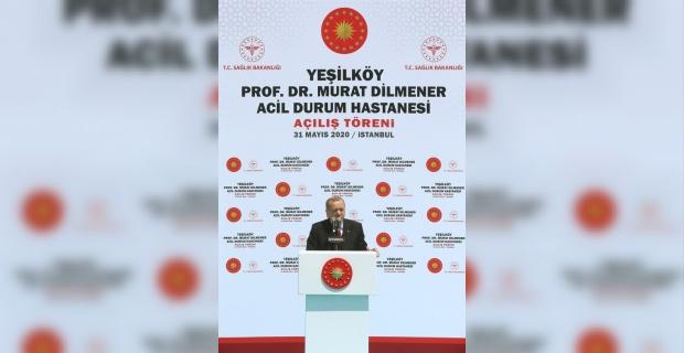 """Cumhurbaşkanı Erdoğan """"Şehir hastanelerimiz küresel düzeyde bir model hâline gelmiştir"""""""