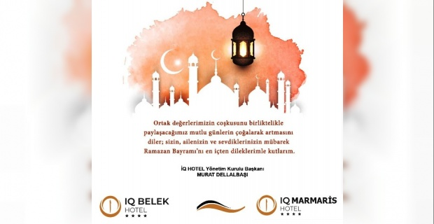 """Dellalbaşı """"Ramazan Bayramını idrak etmenin engin mutluluğunu ve sevincini hep birlikte yaşıyoruz"""""""