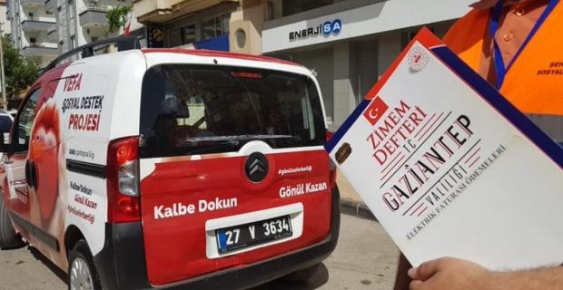 """Gaziantep Valisi Gül """"bütün hemşehrilerimizin Şubat/Mart aylarına ait borçları ZİMEM DEFTERİ projesiyle ödendi"""""""
