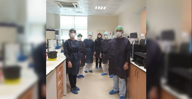 Harran Üniversitesinde COVID-19 laboratuvar testleri başladı