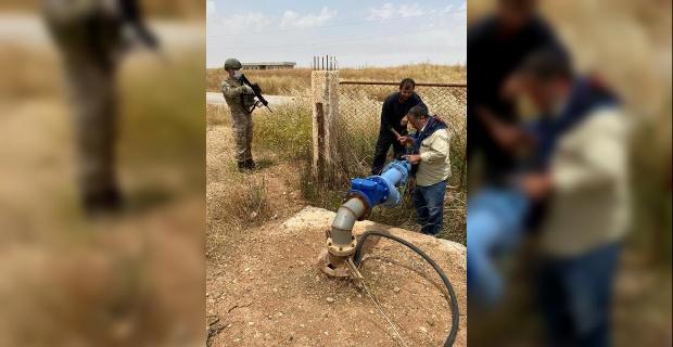 Haseke bölgesinin su ihtiyacını karşılayan Allouk su tesisinin bakımı yapıldı.