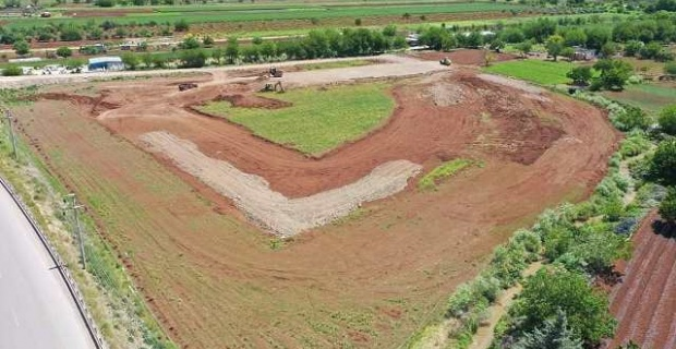 Kilis Sebze ve Meyve Hali kazı ve dolgu işlemlerine başlandı