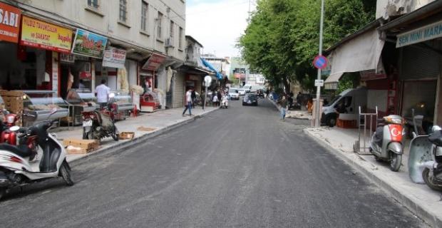 Meşarkiye Caddesi 96 saatte yenilendi.