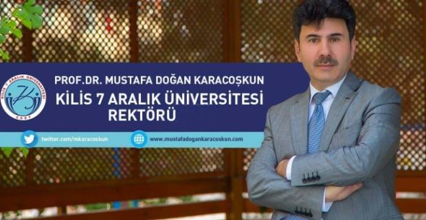 """Rektör Karacoşkun """"Aziz Milletimizin ve tüm İslam Aleminin Ramazan Bayramını Kutluyorum"""""""