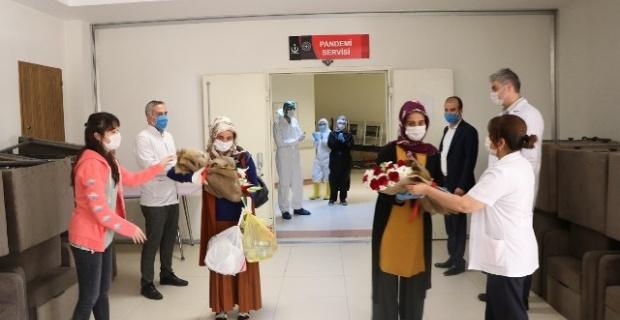 Şanlıurfa'da Koronavirüsü Yenen 5 Kişi Taburcu Oldu