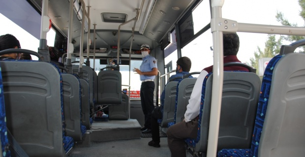Şanlıurfa'da Özel Halk Otobüslerinde Muavin uygulaması kaldırıldı.