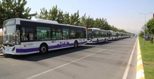Şanlıurfa'da Sokağa çıkma yasağında çalışan toplu taşıma hatları ve çalışma saatleri