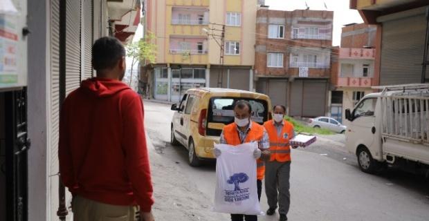 """Şehitkamil Belediyesi """"İhtiyaç sahibi vatandaşlarımıza gıda yardımlarımız aralıksız devam ediyor"""""""