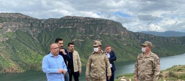 Siirt Valisi Atik,Botan Vadisinde incelemelerde bulundu