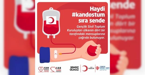 """Türkiye Diyanet Vakfı """"azalan kan stokları için harekete geçiyoruz"""""""