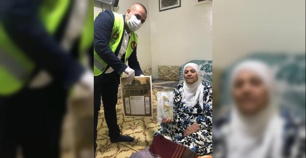 """Viranşehir Belediye Başkanı Ekinci """"büyüklerimizi evlerinde ziyaret ettik"""""""