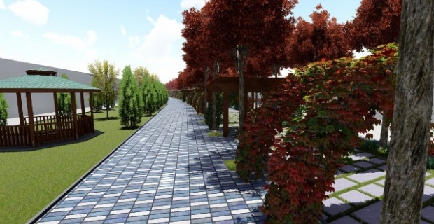Başkan Beyazgül, Şanlıurfa'da bir ilk olan 'Yeşil Koridor Projesini' hayata geçiriyor.