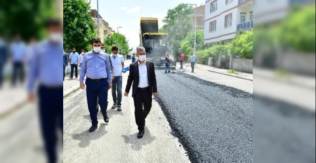 """Başkan Çınar """"Mahallelerimiz Değişiyor, Yeşilyurt'umuz Gelişiyor"""""""