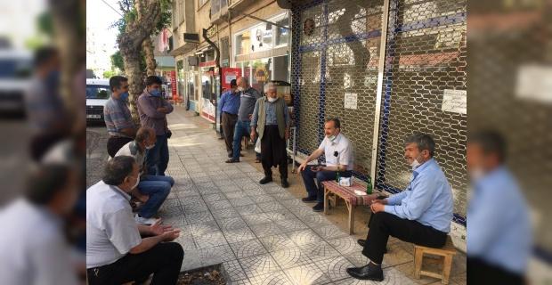 """Başkan Kılınç """"halkın içinde olup talep ve önerileri bizzat dinliyorum.."""""""