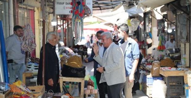 """Başkan Tutaşı """"Mardin halkına sonsuz teşekkürler"""""""