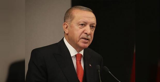 """Cumhurbaşkanı Erdoğan """"Kovid-19, büyük bir aile olduğumuzu ve geleceğimizin ortak olduğunu bizlere bir kez daha hatırlatmıştır"""""""